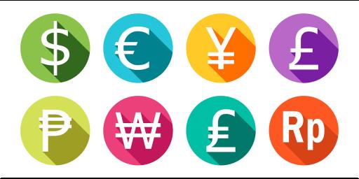 waehrungen-symbole